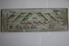 GEC 1930s ? Radio Glass Tuning Scale / Station Guide, Super 6?? RP100262