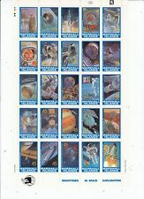 Space US Possessions Stamps