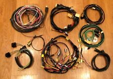 1956 CHEVY WIRE HARNESS KIT 4 DOOR STATION WAGON with ALTERNATOR WIRING USA MADE