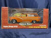 NEW! ERTL American Muscle Posies Orange Krisp 1/24 Scale Replica Vintage 1999