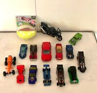 Hot Wheels, Maisto, Bburag - Lot of 15 cars, Motorcycle 1977-1995 Vintage
