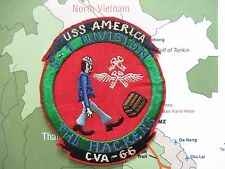 PATCH -  CVA-66 USS AMERICA S-1 DIVISION  HE HACKERS  ,  uss