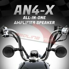 600W Waterproof Bluetooth Motorcycle Stereo Speakers Amplifier Audio System ATV