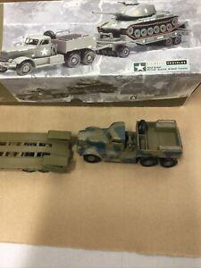 Corgi 55101 Diamond T Tank Transporter spares or repair NO TANK