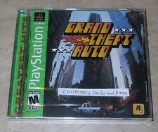 Grand Theft Auto 1 NEW factory sealed Sony PlayStation PSX PS1