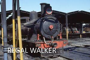ORIGINAL 35MM NZR ZIMBABWE RAILWAY SLIDE  LOCO - 7TH CLASS NO.43 BULAWAYO MPD 94