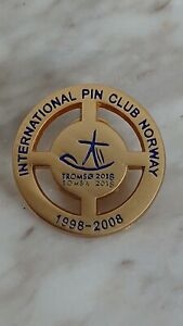 Olympic bid candidate pins Tromsø 2014 very rare IPCN  gold