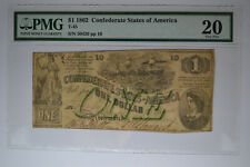 T45 $1 1862 Pf-2 Cr. 342. Pmg Very Fine 20.