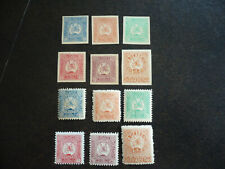 Stamps - Georgia - Scott# 1-12 - National Republic