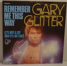 "GARRY GLITTER - Remember Me This Way > 7"" Vinyl Single , wie NEU-new"