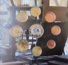 BELGIQUE -  BELGIUM 2012 Coffret BU  (tirage 2 000) medaille colorizé