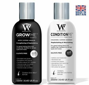 A Hair Growth Shampoo And Conditioner
