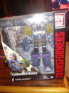 TRANSFORMERS COMBINER WARS ONSLAUGHT New in Box sealed (R 11) Authentic Bruticus