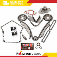 Timing Chain Kit Water Pump Timing Cover Gasket Fit 00-04 Dodge Chrysler 2.7