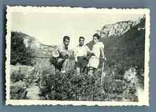 Galdin, France, Bélvèdere des Gorges de la Jonte Vintage silver print. Vintage F