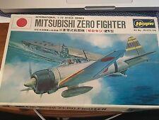 Hasegawa Mitsubishi Zero Fighter A6M2 Type 21 1:72 Scale Plastic Model Kit