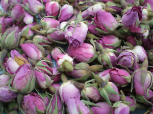 Scented Pink Rose Buds/Dried Rose Buds/Potpourri/Soap/Candle Making 5g-500g