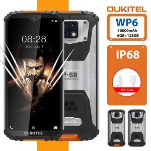 6.3'' OUKITEL WP6 10000mAh IP68 Waterproof 6GB 128GB Octa Core Rugged Smartphone