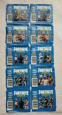 Fortnite Epic Games Pannini 2020 10 pack sticker lot 50 stickers all unopened