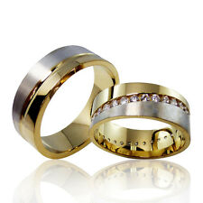 2 Trauringe 925 Silber GRAVUR + Etui Eheringe Verlobungsringe Partnerringe 3301