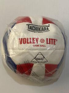 Tachikara Volley-lite Game ball SV-MNC red white Blue  Volleyball Brand New