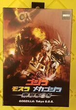 NECA Target Exclusive Tokyo S.O.S. Godzilla 2003 Action Figure monsterarts RARE