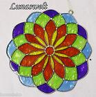 Suncatcher, Fensterbild, Mandala 15 cm Durchmesser