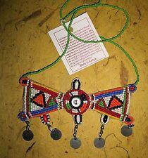 Massai Fair Trade jnmg15 African Maasai necklace Masai