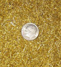1 pound brass powder chips turnings shavings machining 1 lb C360 yellow brass
