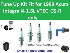 Spark Plugs, Oil Air Fuel Filter, PCV Tune Up Fit 1999 Acura Integra VTEC GS-R