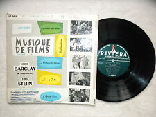 "LP 25CM EDDIE BARCLAY ""Musique de films vol 4"" RIVIERA RLP 6618 FRANCE §"