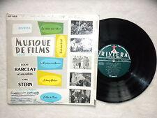 """LP 25CM EDDIE BARCLAY """"Musique de films vol 4"""" RIVIERA RLP 6618 FRANCE §"""