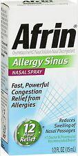 Afrin ALLERGY SINUS Nasal Spray 15ml