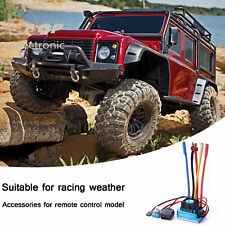 120A Sensorless Brushless Speed Controller ESC for RC 1/8 1/10 Car Crawl Y4Z5