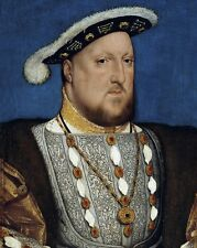 New 8x10 Photo: Portrait of Henry VIII of England by Hans Holbein the Younger