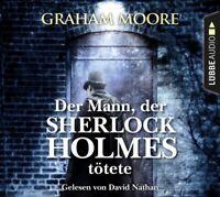 DER SHERLOCK HOLMES TÖTETE DER MANN - MOORE,GRAHAM  6 CD NEW