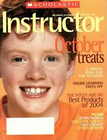 Scholastic Instructor Magazine - October 2004 - October Treats