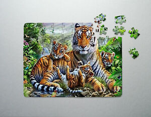 ANIMAL PUZZLES JIGSAWS - A4 - WITH BOX ALL DIFFERENT DESIGNS