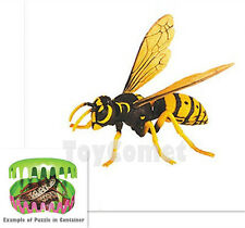 Wasp Insect King Part III Animal 4D 3D Puzzle Realistic Model Kit Toy