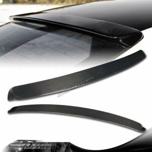 For 99-05 BMW E46 2DR 325ci 330ci M3 Real Carbon Fiber Rear Roof Window Spoiler