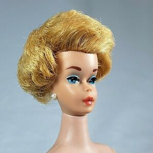 Vintage Barbie #850 Honey Blonde Bubble Cut 1962 Coral Lips GORGEOUS