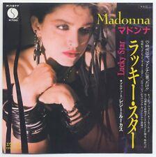 """Madonna - Lucky Star c/w Everybody 7"""" JAPAN 45"""