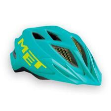 Childrens enduro youth cycle helmet MET Crackerjack Emerald Green 52-57cm