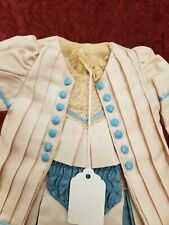 Vintage German/French Bebe Antique Doll Dress HANDMADE 2 Piece Clothing Was $109