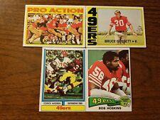 4 Card Lot Of San Francisco Francisco 49ers Players