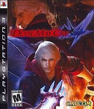 Devil May Cry 4 (Sony PlayStation 3, 2008) GREATEST HITS.  NEW