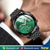 Bluetooth-Call Smart Watch For Men Waterproof Blood Pressure Heart Rate Monitor