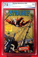 STRANGE ADVENTURES #205 PGX 7.5 VF- Very Fine Minus - First DEADMAN!! +CGC!!!