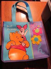 Vintage Winnie the Pooh Piglet Bag Purse Small Vinyl 100 Acre Wood Collection
