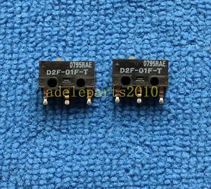 10pcs ORIGINAL & Brand New D2F-01F-T D2F01FT Micro Basic Switch